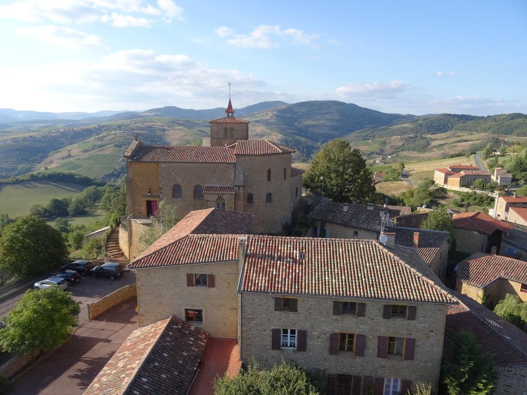 Le village de Chiroubles