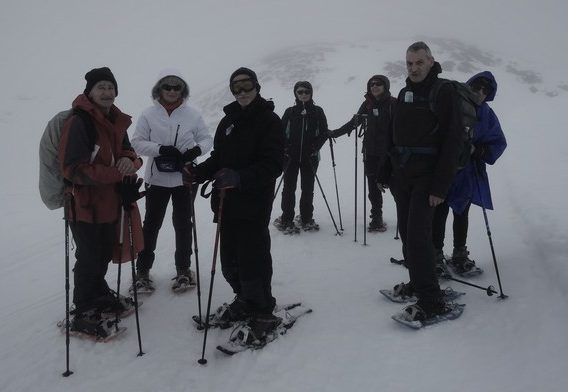 Les sommets du Val d'Azun en raquettes