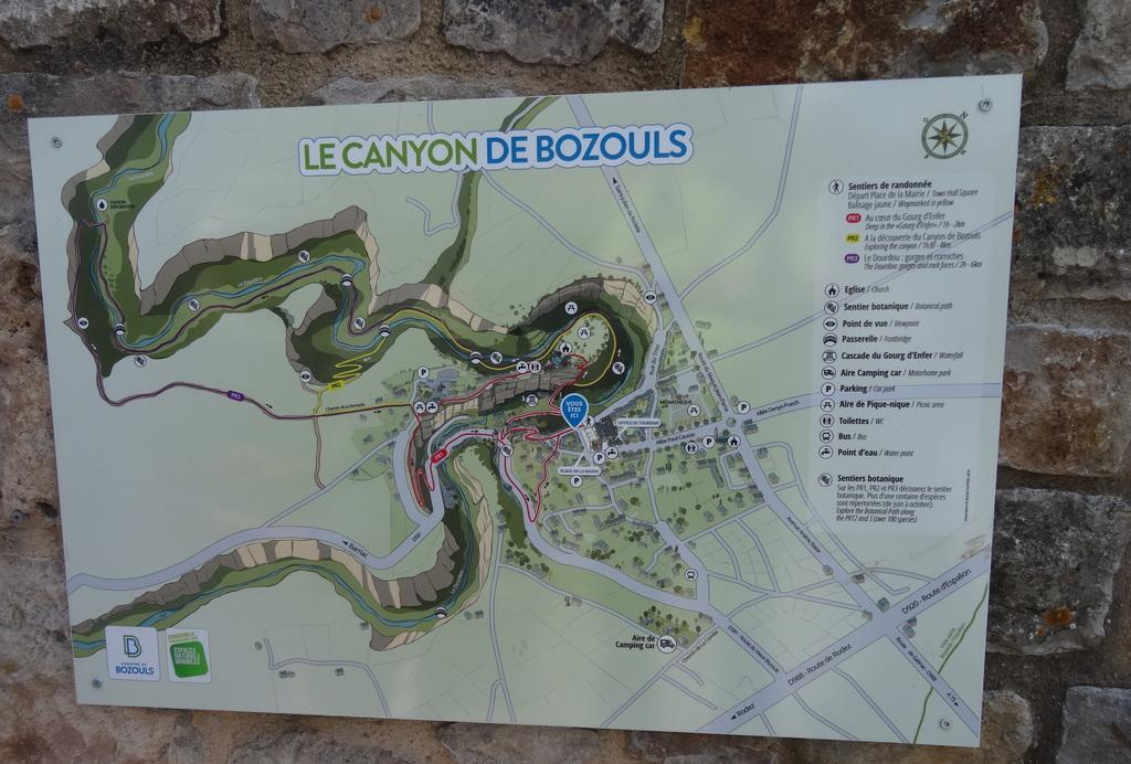 Les méandres  du canyon de Bozouls !