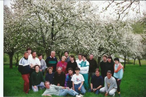 1996 1ère sortie en week_end en Gâtine