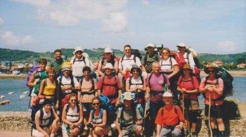 2000 Hendaye départ du GR 10