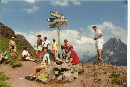 1997 au Col d'Ayous dans les Pyrénées