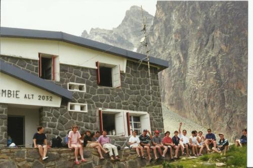 1997 Au refuge de Pombie, du côté du Pic du Midi d'Ossau