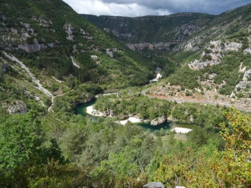 La gorge du Tarn depuis le Causse Méjean.